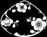 蛤形梅の花