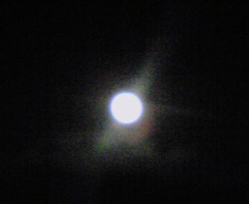 新春の満月