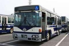 大分バス一般路線車両