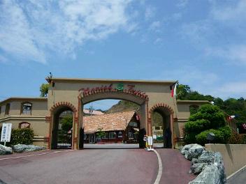 ふじと台城門