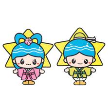 湘南スターモール商店街 織姫・彦星キャラ(あゆみ案)