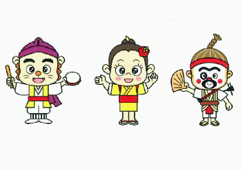 沖縄市エイサーキャラ(比嘉)