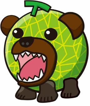 メロン熊(マイルド二次元)