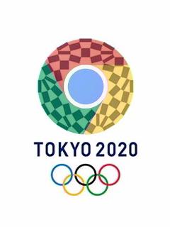 東京五輪エンブレム Chrome分割