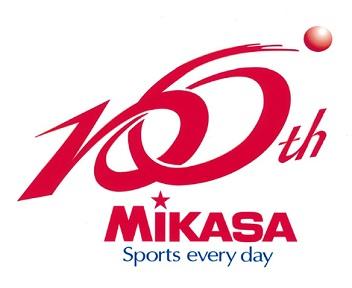 株式会社ミカサ100周年ロゴ